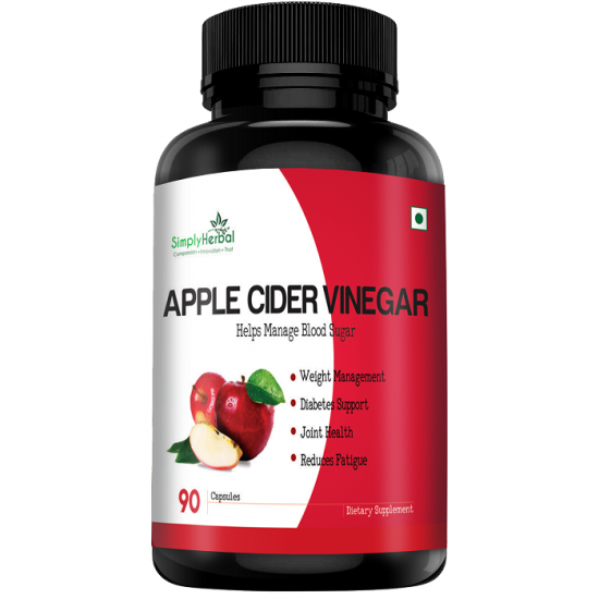 Simply Herbal Apple Cider Vinegar Gummies with The Mother