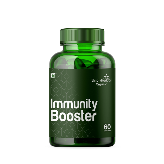 Simply Herbal Immunity Booster Plants & Herbs Based (60 Capsules)
