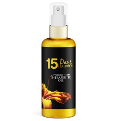 15 Days Hair Oil Advanced Herbs Therapeutic Oil (Stops Hair Fall, Regrows Hair & Remove Dandruff Permanently) 100ml (1 Bottles)