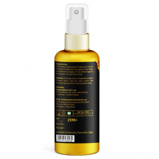 15 Days Hair Oil - Advanced Herbs Therapeutic Oil