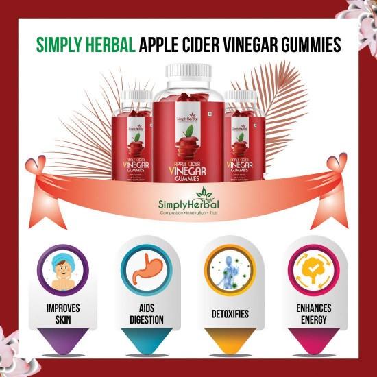 Apple Cider Vinegar Gummies with Mother 500Mg - 30 Gummies