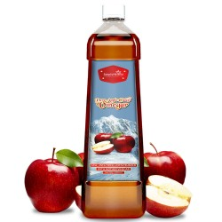 Pure Apple Cider Vinegar With Mother (Weight Control, Blood Sugar, Boosts Metabolism, Digestion & Immunity) 500ml (1 Bottles)
