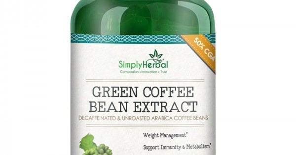 Green Coffee Bean Extract Capsule: Weight control ...