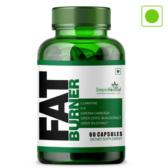 Fat Burner Supplement 1000Mg - 60 Capsules (1 Bottle)