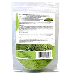Pure Green Coffee Beans Powder 225Gms (1 Pack)