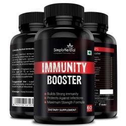 Immunity Booster Plants & Herbs Based - 60 Capsules