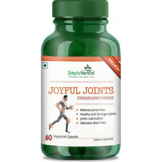 Joyful Joints Supplement 700mg - 60 Capsules (1 Bottle)