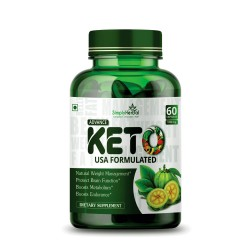 Advance Keto USA Formulated 1000mg - 60 Capsules ( 1 Bottle)
