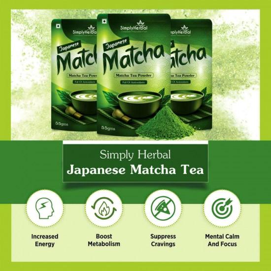 Japanese Matcha Green Tea Powder 55Gm (1 Pack)