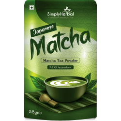 Japanese Matcha Green Tea Powder 55Gm (1 Pack)