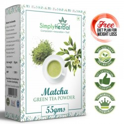 Japanese Matcha Green Tea Powder - 55Gm (Lose Weight, Prevent Diabetes, Blood Pressure, Anti-aging Agent) - (1 Pack)