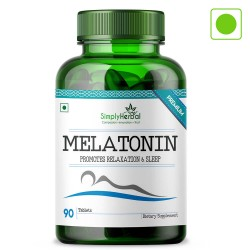 Simply Herbal melatonin Advanced 10Mg Formula for Healthy Sleep Cycle - 90 Pills