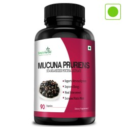 Mucuna Pruriens Extract 500mg - 90 Capsules (1 Bottle)