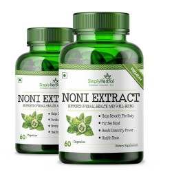 Noni Extract Supplements 500mg - 60 Capsules (2 Bottle)