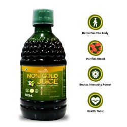 Noni Gold Juice - 500 Ml (Purifies Blood, Detoxify Body, Boosts immunity, Reduces Stress & Joints Health) (1 Bottles)