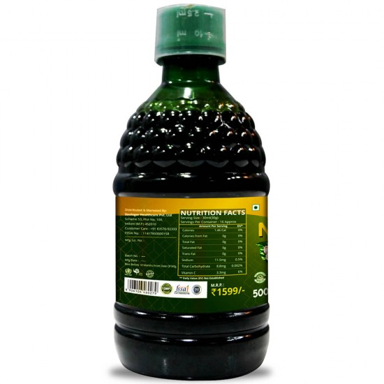 Simply Herbal Noni Gold Juice - 500 Ml (Purifies Blood, Detoxify Body, Boosts immunity, Reduces Stress & Joints Health) (1 Bottle)