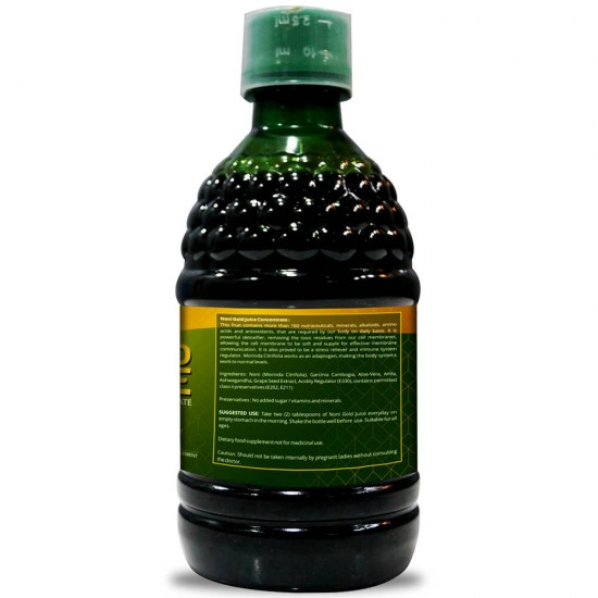 Simply Herbal Noni Gold Juice - 500 Ml (Purifies Blood, Detoxify Body, Boosts immunity, Reduces Stress & Joints Health) (2 Bottles)