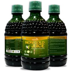 Noni Gold Juice - 500 Ml (Purifies Blood, Detoxify Body, Boosts immunity, Reduces Stress & Joints Health) (3 Bottles)