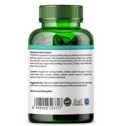 Probiotics 25 Billion CFU Formula 500mg - 60 Capsules (2 Bottles)