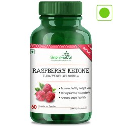 Raspberry Ketones With Green Tea & Garcinia Cambogia (Weight Loss & Reduce Body Fat) - 800mg - 60 Capsules (4 Bottles)