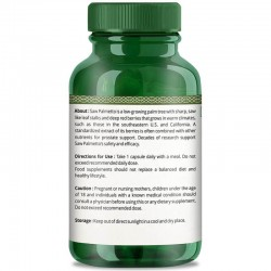 Premium Saw Palmetto Extract (Hair Growth, Prevent Hair Loss & Hormone Balance) - 800mg - 30 Capsules (1 Bottles)