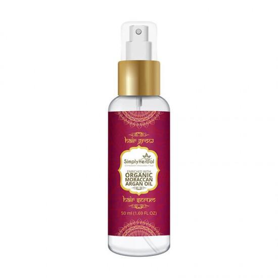 HairGrow Hair Serum Enriched With Organic Moroccans Argan Oil 50ml (1 Bottle)