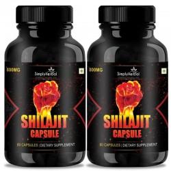 Shilajit Gold (Increase Energy, Stamina, Testosterone, Virility & Control Premature Ejaculation) (2 Bottles)