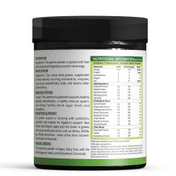 Super Green All In One Super Nutrition (Energy Supplement, Boost Immune System, Digestive Support) - 300Gm (1 Bottle)