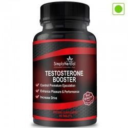 Testosterone Booster (Ashwagandha, Safed Musli, Shilajit, Kaunch Beej & Vidarikanda Extract) - 800mg - 60 Capsules (1 Bottles)