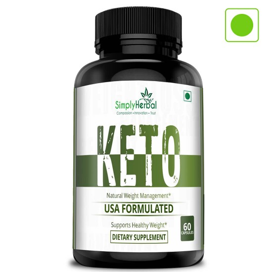 Premium Keto-Diet Supplements - Supports Healthy Weight Loss - Ketogenic Fat Burner For Women and Men - 800mg - 60 Capsules (1 Bottles)