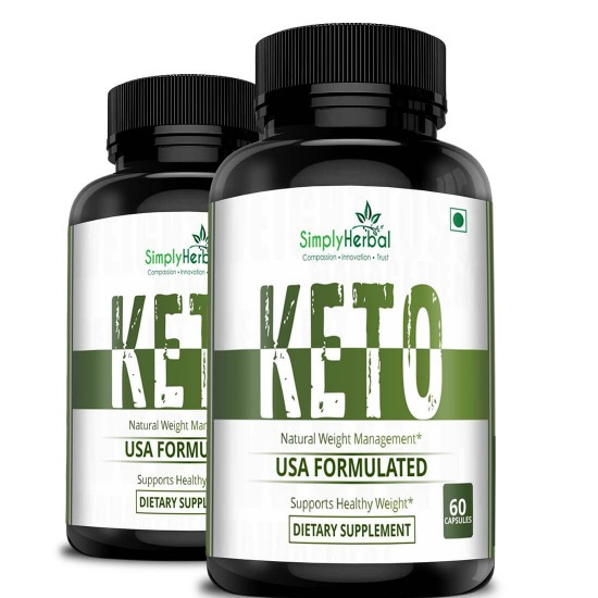 Premium Keto Diet Supplements Supports Healthy Weight Loss Ketogenic Fat Burner For Women And Men 800mg 60 Capsules 2 Bottles