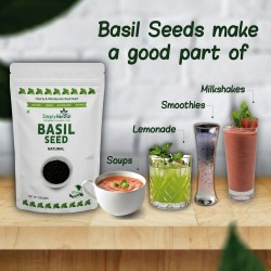 Basil Seed 100Gms Pack