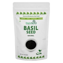 Simply Herbal Basil Seed 100gms Pack