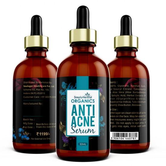 Organics Anti Acne Serum 30Ml