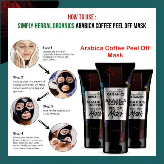Simply Herbal Organics Arabica Coffee Peel Off Mask