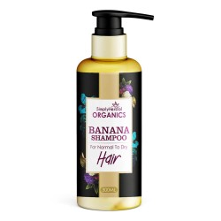 Organics Banana Shampoo for Normal To Dry Hair 300Ml