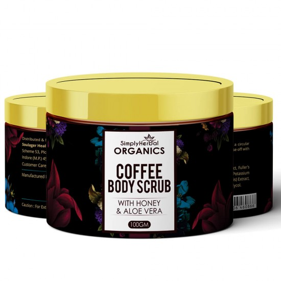 Simply Herbal Organics Coffee Body Scrub