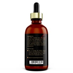 Simply Herbal Organics Vitamin C Skin Glow Face Serum with Extra Aloe Vera Extract