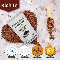 Raw Flax Seed 200Gms Pack