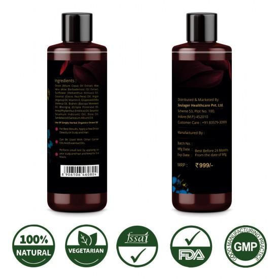 Organics Onion Oil 200Ml