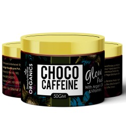Organics Choco Caffeine Glow Skin Pack 50Gm