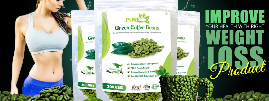 Unroasted Green Coffee Beans for Weight Loss