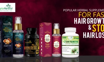 Best Herbal Capsules, Serum and Oil For Fast Hair Growth & Stop Hair Loss