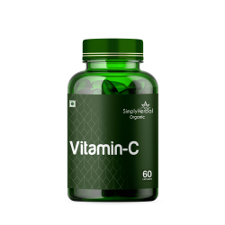 Vitamin C 1000mg High-Potency (Bone Health, Boost Immunity, Glowing Skin, Powerful Antioxidant) - 60 Capsules (1 Bottle)